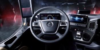 Nuevo Mercedes-Benz Actros, camión, tecnología, empresas, fabricantes del sector,