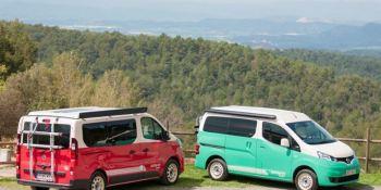 Nissan, furgonetas, camper, conversiones,