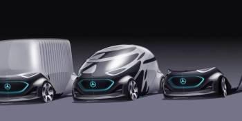 movilidad, eléctrica, autónoma, Vision-URBANETIC, Mercedes-Benz,