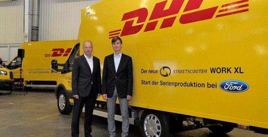 Deutsche Post, StreetScooter, Ford, producción, furgoneta, eléctrica,