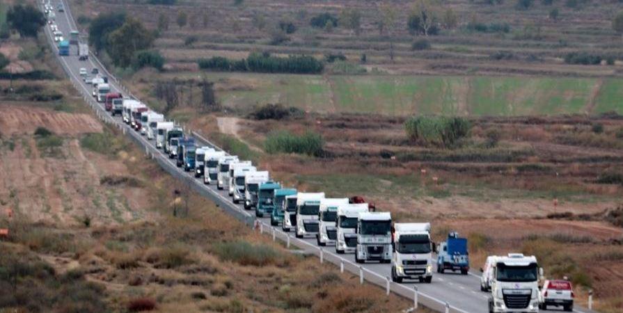convocadas, movilizaciones, transportistas, Tarragona,