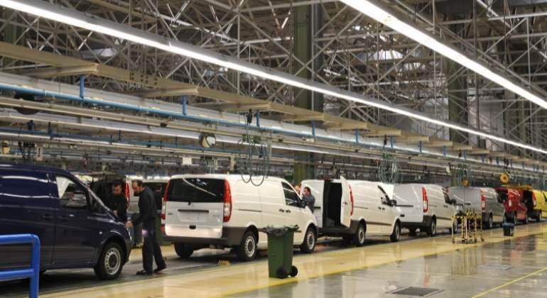 Mercedes-Benz, parará cinco, días, fabricación, diésel, Vitoria,