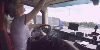 mujeres, camioneras, Rusia, vídeo, actualidad sector, transporte,