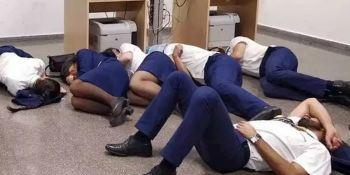 Ryanair, despide, trabajadores, montaje, vídeo, condiciones, laborales,