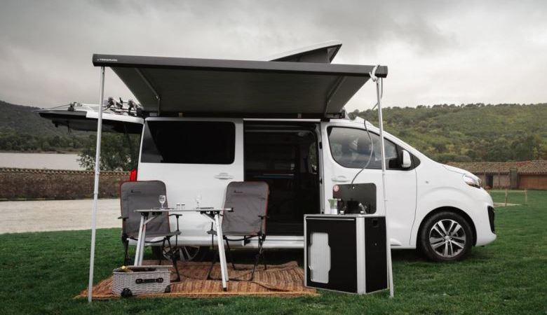 Tinkervan, Peugeot, Traveller, Rifter, versión, camper,