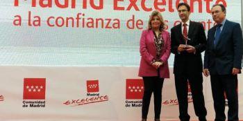 galardonada, confianza, clientes, DHL Express, premio, Madrid Excelente,