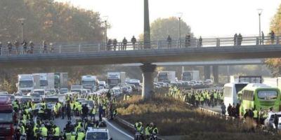 movilizaciones, francesas, dejan, atrapados, miles, camiones españoles,