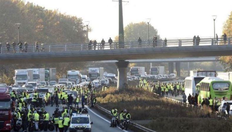 protestas, Francia, Andalucía, copa, camiones, potencialmente, afectados, movilizaciones