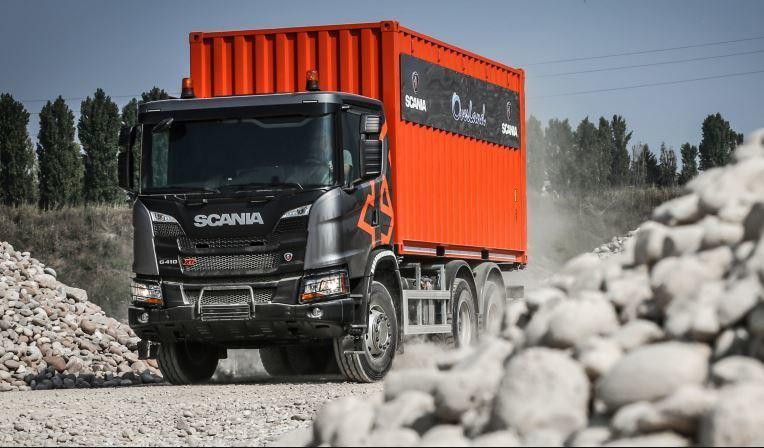 camión, Scania, expedición, africana,