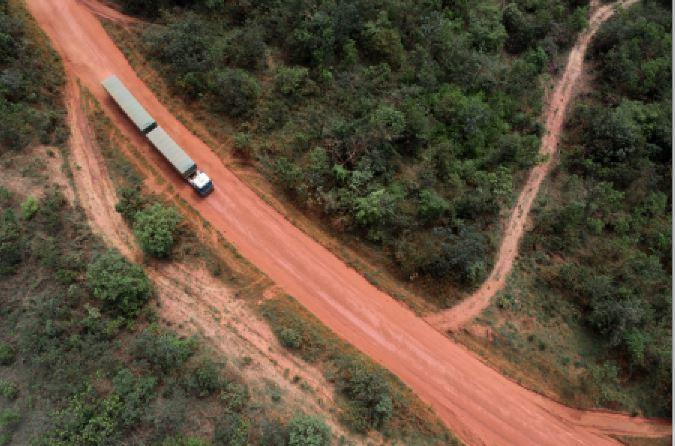 Scania, Mato Grosso, Brasil, vídeo, carreteras, baches,