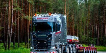 confianza, Scania, S 730, transporte especial,