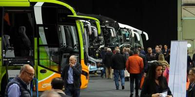 ExpoBus Iberia, patrocinio, ABANCA, expositores, España, Portugal, autobuses, autocares, fabricantes, sector, transporte público,