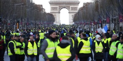 chalecos amarillos, editorial, utopía, protestas, Francia, España., opinión y debate, sociedad,