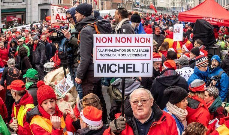 huelga, general, Belgica, sindicatos, FGTB, convocatoria, seguimiento, ciudadanos, país, sociedad,