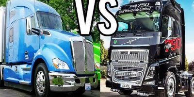 camiones, americanos, europeos, diferencias, cabinas, características, fabricantes del sector, curiosidades, vídeos,
