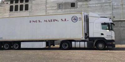 camión robado, Albatera, pasado sábado, Scania, semirremolque, alerta, ayuda,