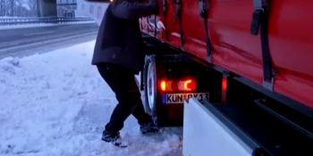 nieve, frío, Alemania, Austria, carreteras, nevadas, sociedad,, transporte por carretera, temporal,