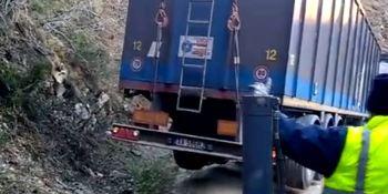 rescate, camión, perdido, camino, La Rioja, conductor, moldavo, sucesos,