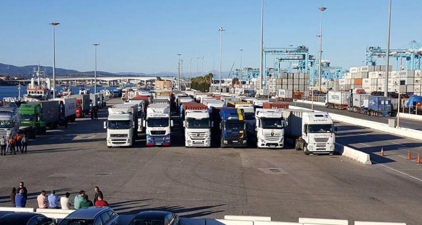 camiones, Puerto de Algeciras, Motril, Vitoria, camiones, PIF, inspecciones,