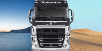 camión, Volvo, Arabia, desierto, carretera, empresas, fabricantes del sector, actualidad,