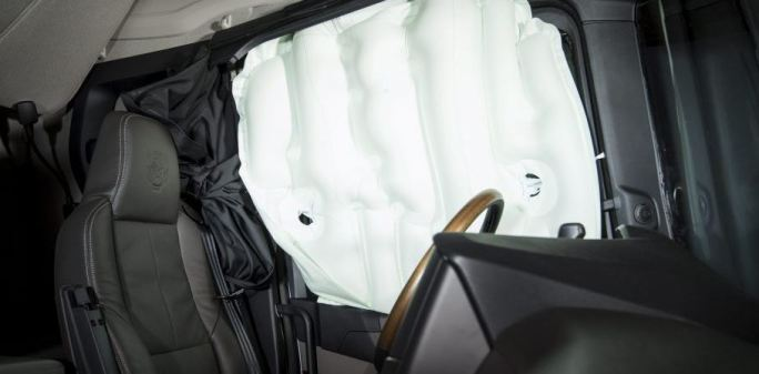 airbags, laterales, Scania, seguridad, conductores, vuelco,