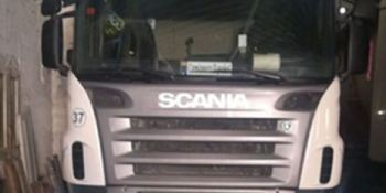 alerta, camión robado, Scania, Alagón