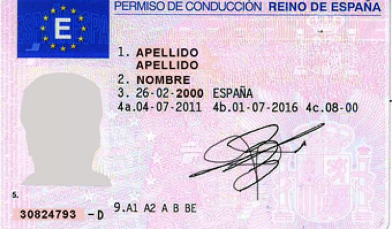 Enviada a las Cortes la reforma del sistema de carné por puntos