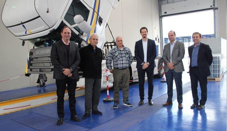 Scania, visita, nuevas, instalaciones, Primafrio