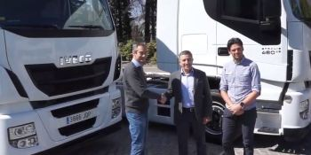 Angel Nieto Team, Iveco, camiones, motociclismo, empresas, fabricantes del sector,
