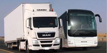Caen un 23,7% las ventas de camiones y autobuses en España