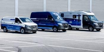 Mercedes Benz, furgonetas, eléctricas, fabricantes del sector, empresas, movilidad,