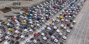 desconvocadas, movilizaciones, transportistas, puerto, Barcelona,