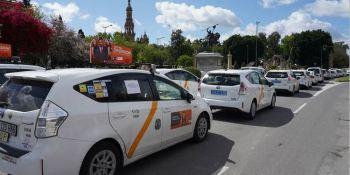 Élite, calcula, taxis, caracolada, calles, Sevilla,