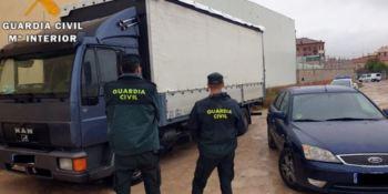 Guardia Civil, detiene, seis, personas, robos, camiones, sociedad,