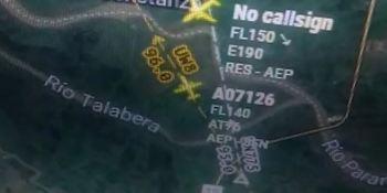 chocan, aviones, piloto, insultos, controladora, vídeo,