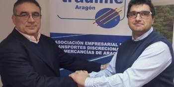 Tradime, Aragón, nuevo, presidente, asociaciones, actualidad, transporte,
