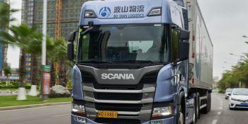 Scania, transporte, alimentos, congelados, tiempo, China, empresas, fabricantes del sector,