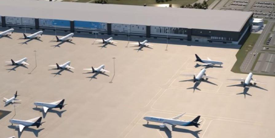 Amazon, construye, propio, aeropuerto, vídeo,