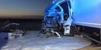 herido, camionero, colisión, camiones, A-4,