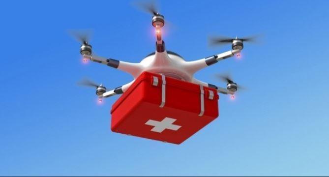 Dron, pruebas, transporte, medicamentos, Teruel, sociedad,