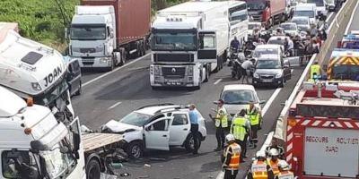 camionero español, accidente, Nimes, acusado, homicidio involuntario, sociedad,