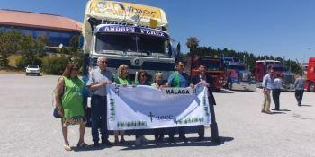 Pegaso, Solidario, llega, Málaga, última, etapa, fotos, vídeo,