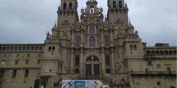 pegaso, solidario, llega. Santiago de Compostela, fotos, vídeo,