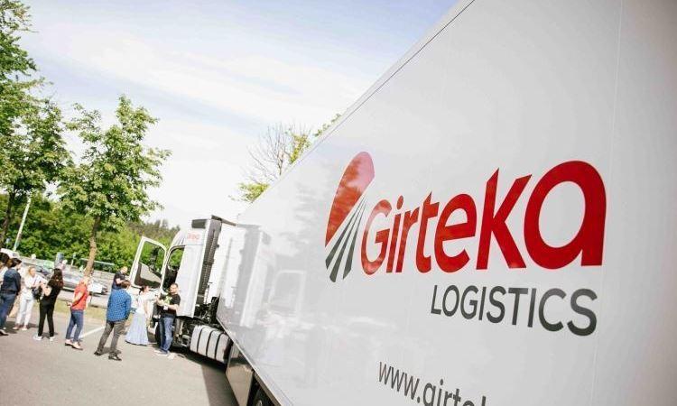 empresas, Girteka Logistics, jornada de puertas abiertas, transporte internacional, sociedad,