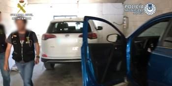 vehículos, sustraídos, desarticulado, detenidos, operación, Madrid,