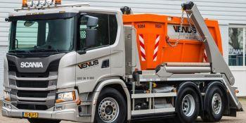 Scania, G 370 6 x 2, camión, ultracorto,