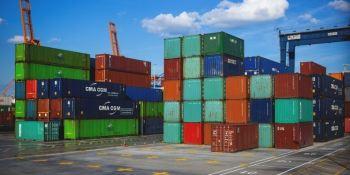 transporte, mercancías,