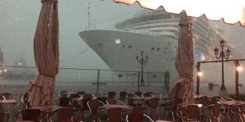 crucero, control, pánico, Venecia, vídeo,