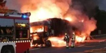 incendio, camión, AP-7, sucesos, sociedad,