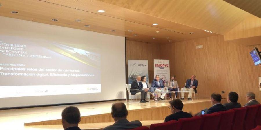 eficiencia, sostenibilidad, digitalización, retos, futuro, transporte,